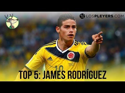 Top 5 goles de James Rodríguez