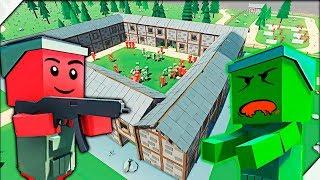 ЗОМБИ ПРИШЛИ В ШКОЛУ И СОЖРАЛИ ВСЕХ ВЗРОСЛЫХ УЧЕНИКОВ. - Игра Ancient Warfare 3. Приключения зомби.