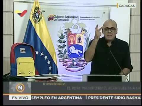 Jorge Rodríguez: Fueron aprobadas las tablas salariales de la Administración Pública