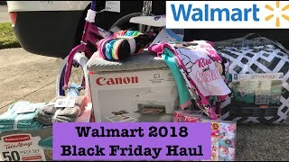 Walmart 2018 Black Friday Haul! Great Deals! No Couponing Required!