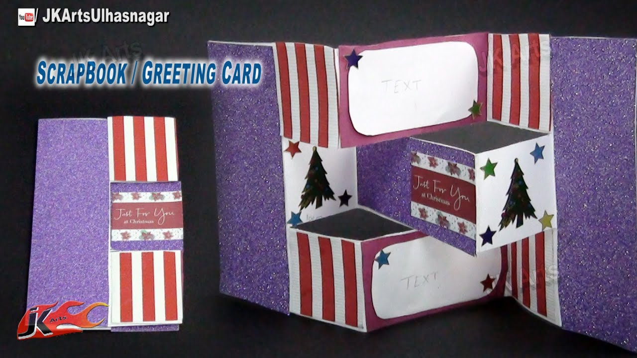How to make christmas cards diy trifold shutter card tutorial jk how to make christmas cards diy trifold shutter card tutorial jk arts 724 youtube m4hsunfo