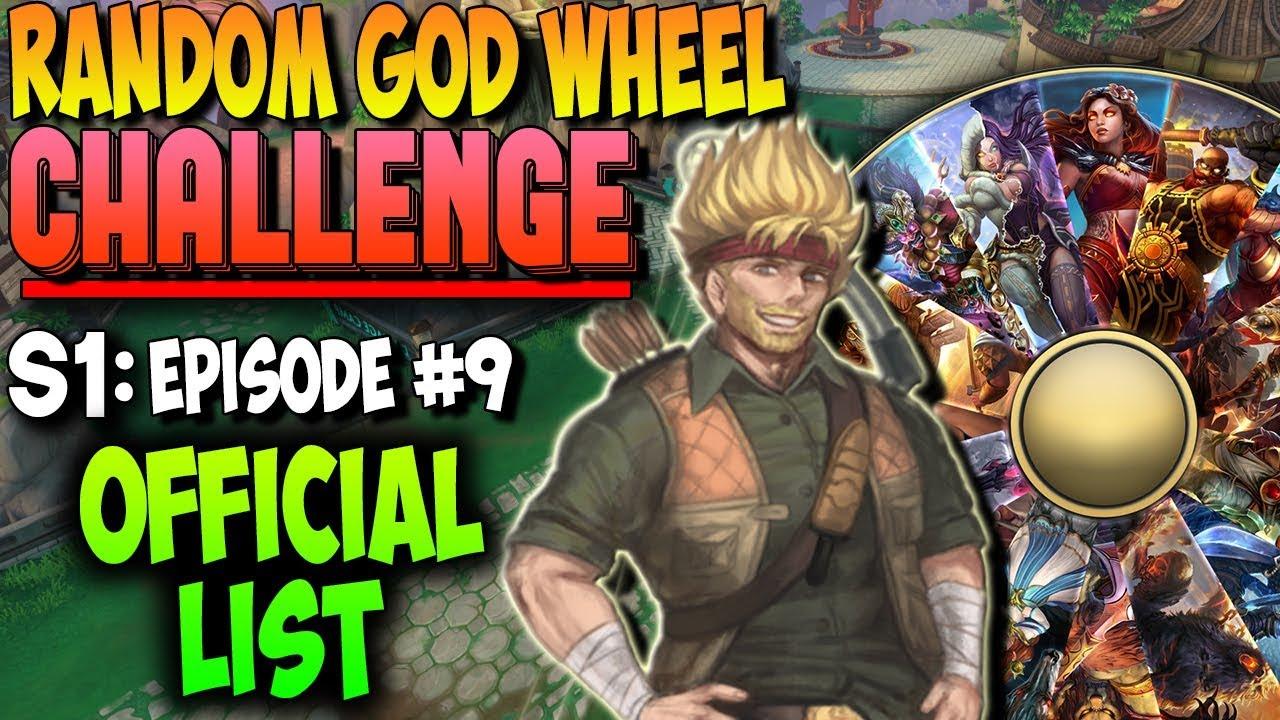 Smite God Wheel