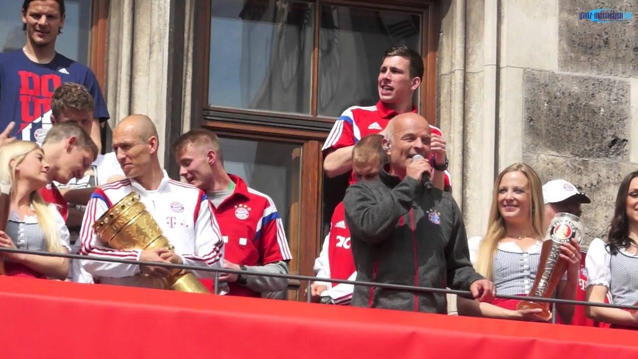 Pokalfeier München