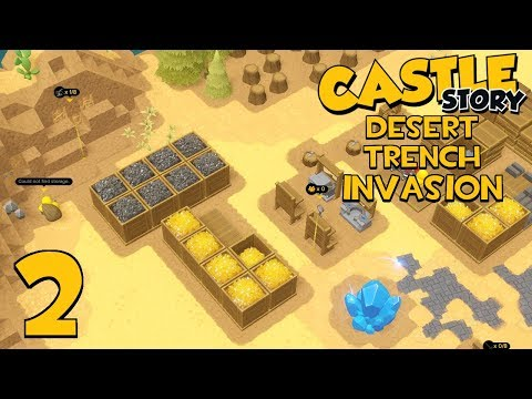 Castle Story Invasion on Desert Trench - Part 2 - RESOURCES FOR DAYS