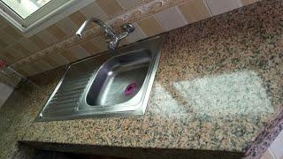 بغيتي رخامة مطبخك تبقى ديما فارغة وزوينة دخلي للفيديو نصائح لربات البيوت😉كوزينة ديما نظيفة