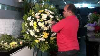 Como fazer coroas de flores - BH MG