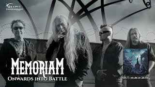 Memoriam - Onwards Into Battle (OFFICIAL LYRIC VIDEO)