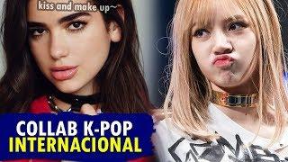 MELHORES COLABORAÇÕES INTERNACIONAIS do K-POP!! 👍🎶