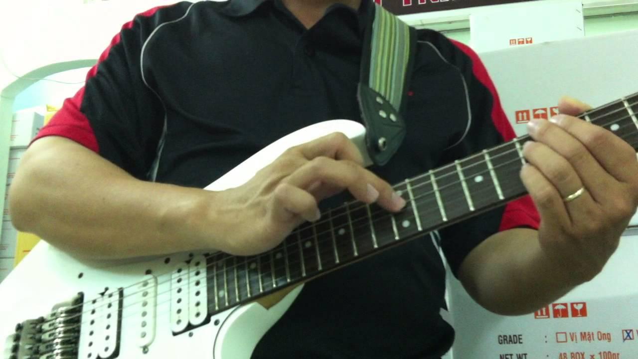 Học guitar solo – Hướng dẫn kỹ thuật TAPPING cơ bản trên đàn guitar  [HocDanGhiTa.Net]