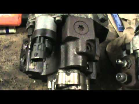 Duramax cp3 high presure fuel pump removal - YouTube