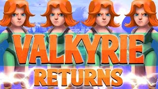 Clash of Clans - Valkyries Return for the Update!