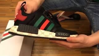 NEW 2017 UA Adidas X Gucci NMD R1 Black