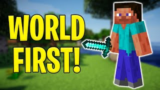 A Historic Minecraft World Record Just Happened!