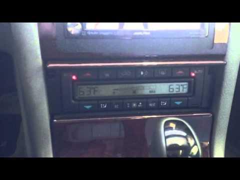 Mercedes Benz E320 w210 Double Din Modification ALPINE INE-S920HD  Navigation AL & EDS AUTOSOUND LA