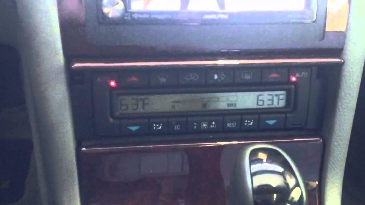 мерседес шипит радио w210