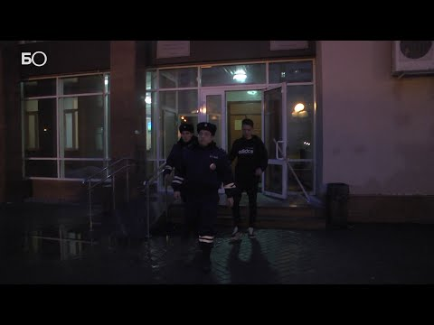 В Казани арестовали водителя, который отказался снимать тонировку с машины