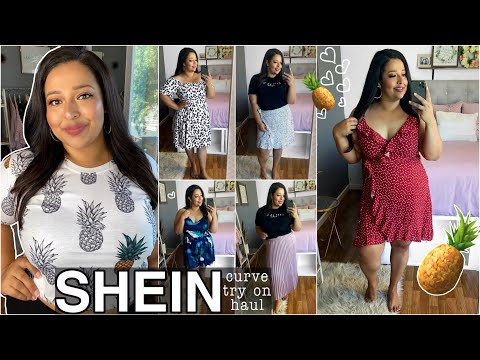 SHEIN CURVE TRY ON HAUL || SUMMER PLUS SIZE OUTFITS! 🍍