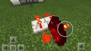 cara membuat machine gun TNT di minecraft