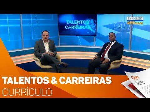 Talentos & Carreiras: Currículo - TV SOROCABA/SBT