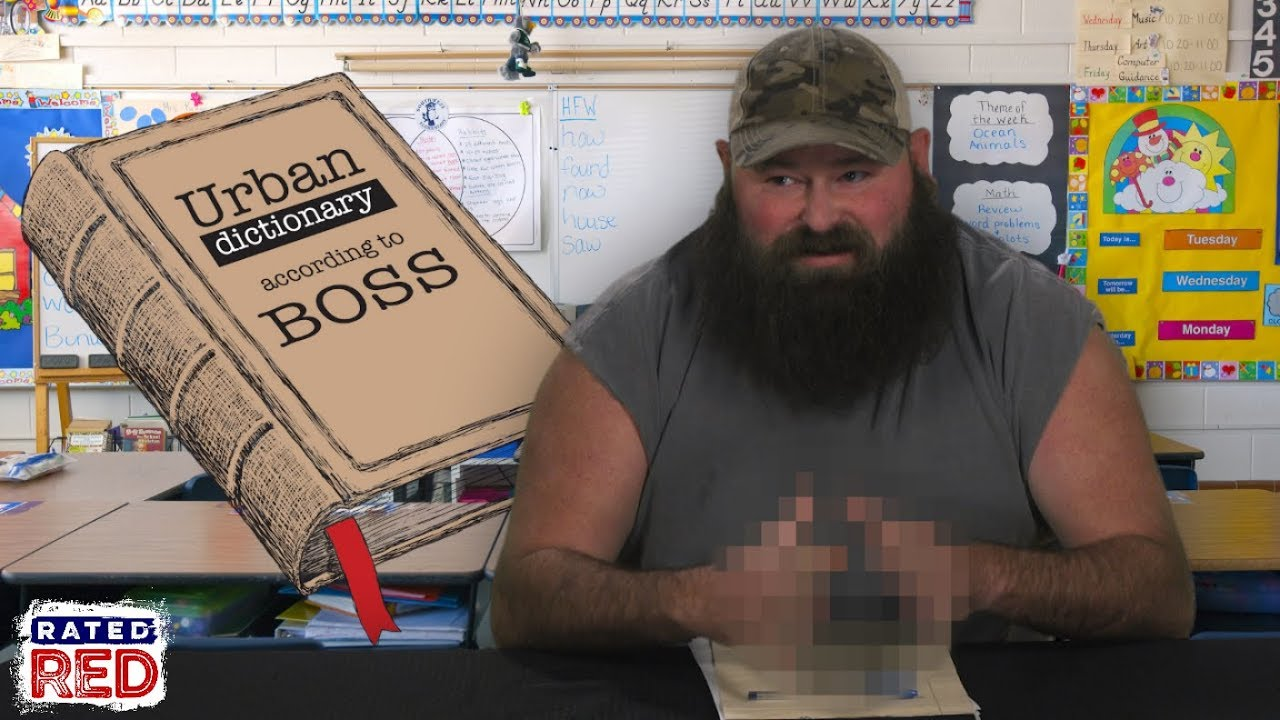 The Urban Dictionary According to Boss: Cunch, Meat Umbrella and More!