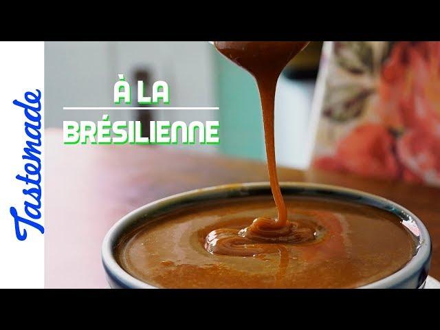 La confiture de lait, dolce de leite - À la brésilienne