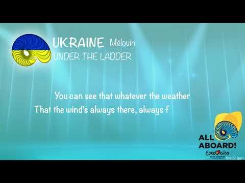 MELOVIN - Under the Ladder (Ukraine) [LYRICS] Eurovision 2018