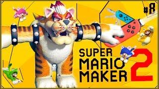 Super Mario Maker 2 #8 - Finał fabułki! (!) (yhy!) (ideka?)