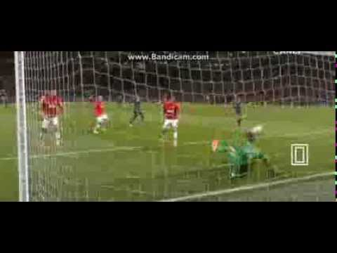 De Gea Amazing Save Manchester United 3-0 Olympiakos 19/03/2014