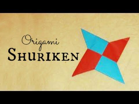 Origami Ninja Star Instructions Youtube