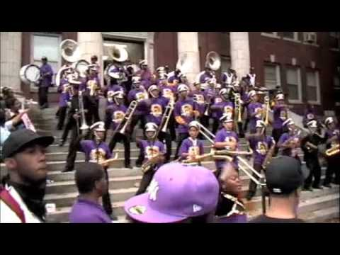 Camden High Marching Band - We Are The Panthers / Neck