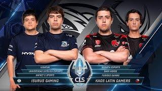 CLS -  KLG vs Isurus   - Apertura S4D2