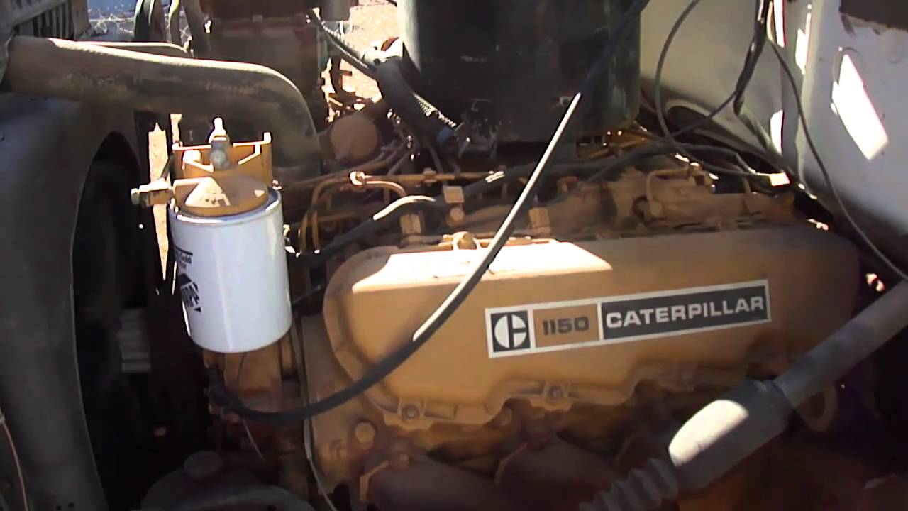 1973 ford ln7000 w 1150 v8 cat youtube rh youtube com Caterpillar Engine Sizes C13 Caterpillar Engine Parts Diagram