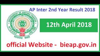 AP Inter 2nd Year Results 2018 Andhra Pradesh Senior Intermediate Second Year Result 2018