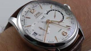 Oris Artelier Date 0173376704351-0752170FC - Video Más Popular 594ee3716d1