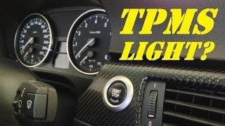 BMW E90 N54 335i/xi Remove Yellow Tire Pressure Light (TPMS)