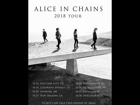 Alice In Chains 3rd tour leg announced - Ne Obliviscaris a few headline shows unveiled..!
