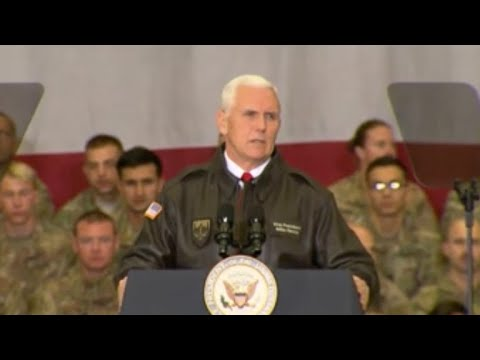 Pence makes surprise visit to Afghanistan