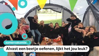 Met vrienden kamperen bij een boer in Twente is populair