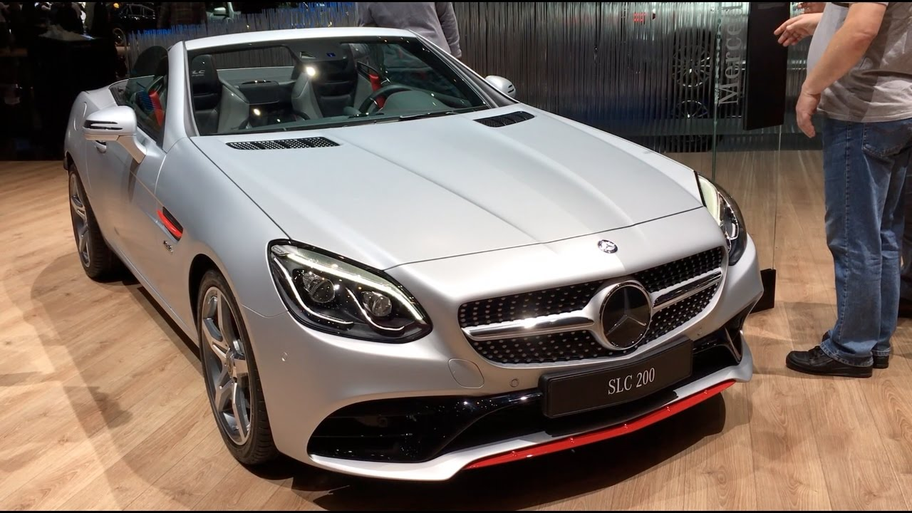 mercedes benz slc 200 2017 in detail review walkaround interior exterior youtube. Black Bedroom Furniture Sets. Home Design Ideas