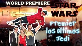 The Last Jedi premiere - Sin Spoilers-Fernando Lozada-Nath Campos-Mario Ruiz-Parcerito
