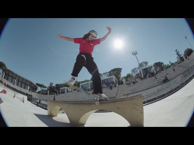 Street Skateboarding World Championships 2021 - Rome - Women's Practice Day 3
