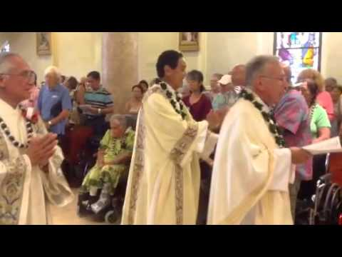 MASS FOR ENSHRINEMENT OF ST. MARIANNE COPE -