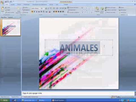 Como crear diapositivas youtube - Programa para decorar ...