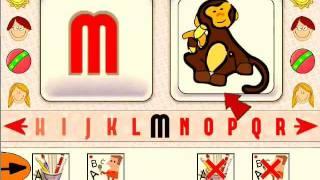 i Alpha - Learn the alphabet educational software demonstration