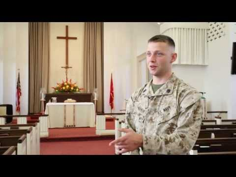 Petty Officer 2nd Class Alexander Farmer shares his motivation