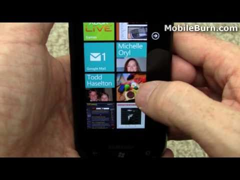 Samsung Focus for AT&T review and Windows Phone 7 tour - part 1 of 4