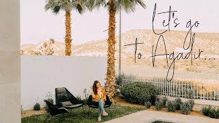 Pack with me + 1st day in Agadir! ♡ Morocco travel vlog 2018