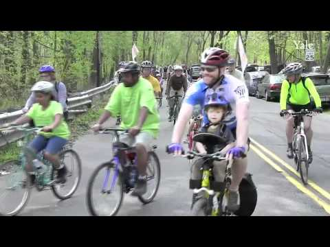 Rock to Rock Earth Day Ride: West Rock Park through New Haven to East Rock Park