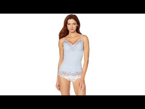 d458a13410130 Rhonda Shear Cross Dye Pinup Camisole - YouTube