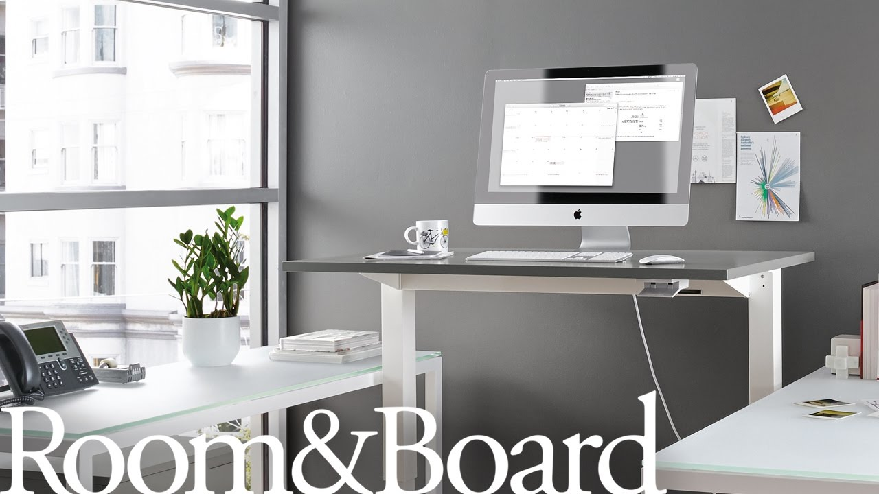 Lifting The Float® Standing Desk By Humanscale®